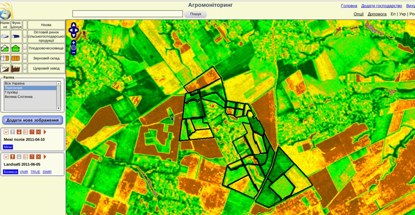 агромониторинг мониторинг состояние полей